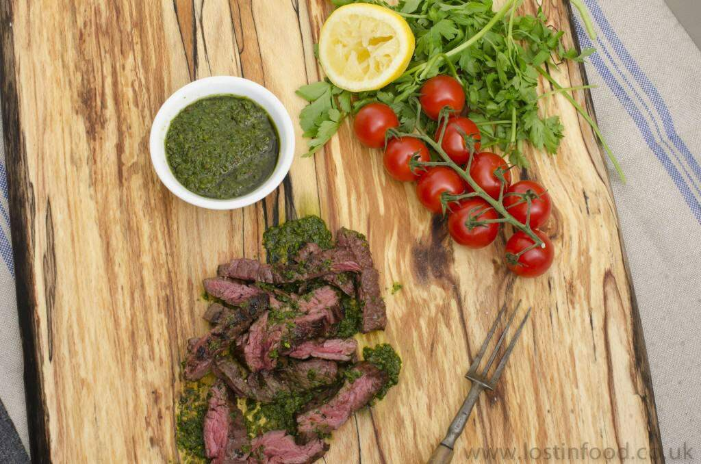 The Store - Skirt Steak with Chimichurri - dk watermar001