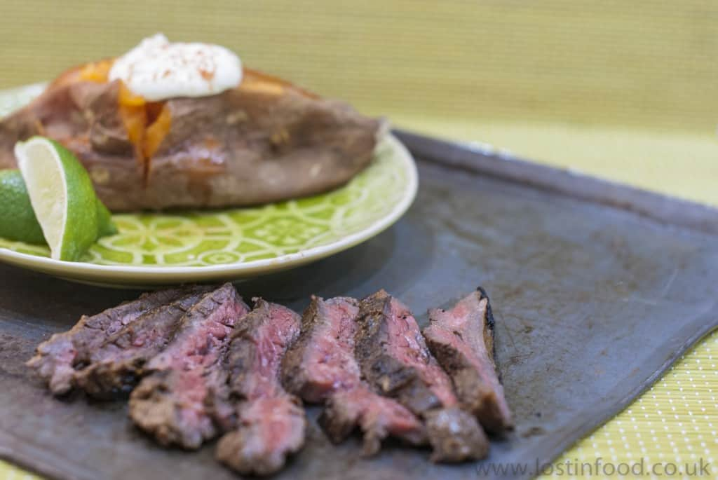 The Store - Skirt Steak with Warm Marinade dk watermar001