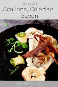 scallops celeriac bacon pinterest